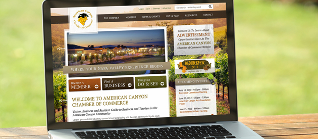 New Chamber of Commerce Website Design Goes Live