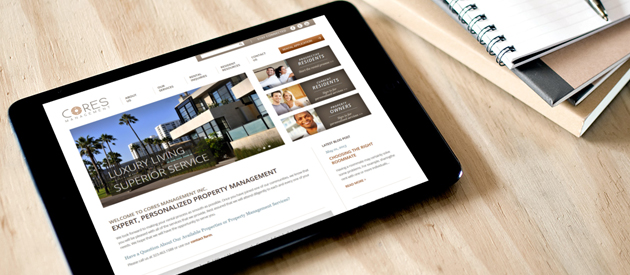 Property Management Web Design and Development Project Goes Live!