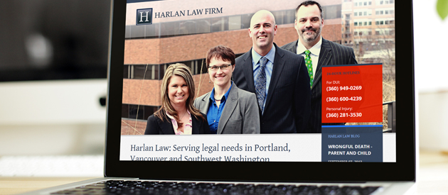 Law Firm Website Redesign Launch