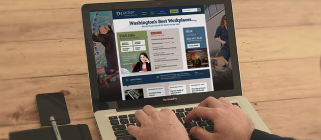 Seattle Staffing Company Parker Services' New Website Redesign Goes Live!
