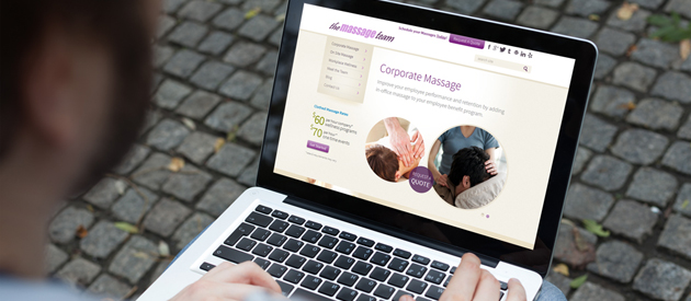 New eService Website for Massage Team is Live!