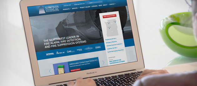 New Website Launch for Suppression Systems, Inc.