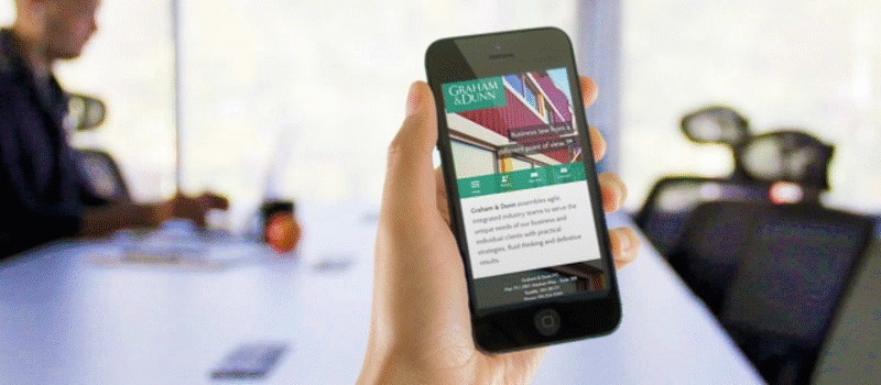 Seattle Law Firm Mobile Website Launched for Graham & Dunn
