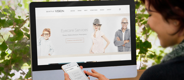 Amazing, Responsive Site for Seattle Vision Care is Live!