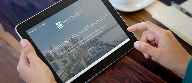 Seattle Law Firm Tarutis & Brunstrom Receive a Fresh & Responsive Website