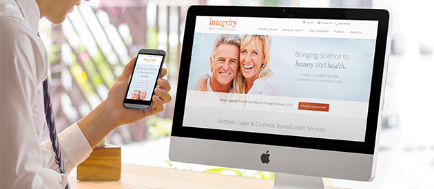 New, Responsive Service Website for Integrity Medical Aesthetics is Live!