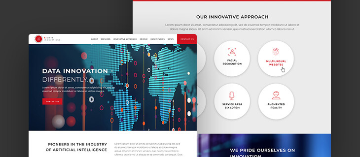 New B2B Website Redesign Launched for AI Data Innovations!