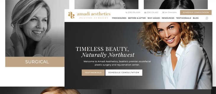 New Website Launched for Amadi Aesthetics Surgery Center