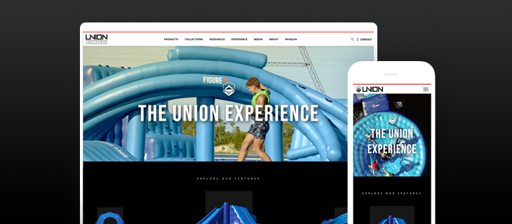 Just In Time For Summer - Check Out Union AquaParks New Website!