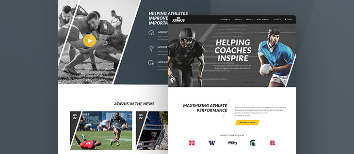 Sharp New Website Now Live for Sports Performance Organization
