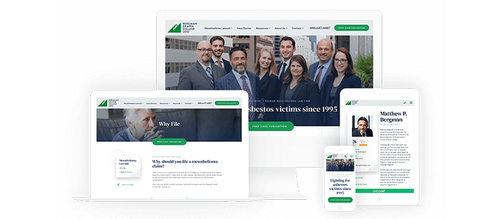 Website Launch for Seattle Law Firm Bergman Draper