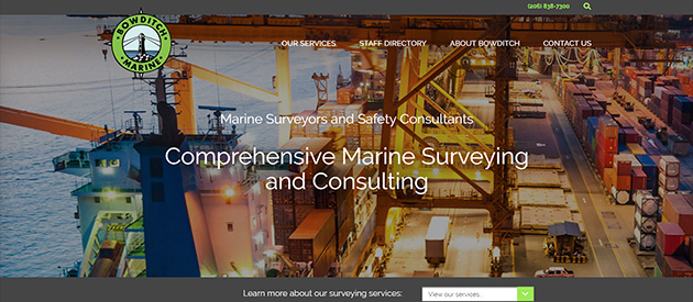 New Professional eService Website for Bowditch Marine