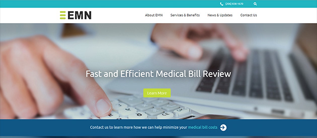 New Professional Service Website For Employers Medical Network!