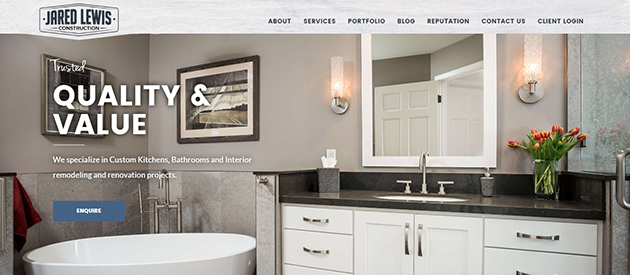 A Warm Welcome To Our Newest Construction Website Redesign