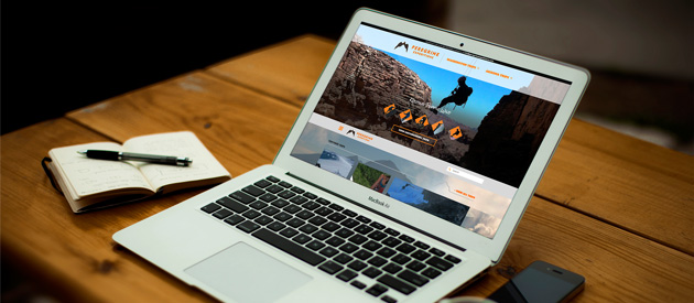 Responsive Website for Outdoor Adventure Company is LIVE!