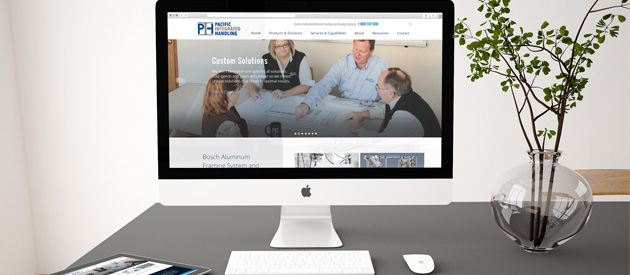 New, Responsive Website Launch for Pacific Integrated Handling