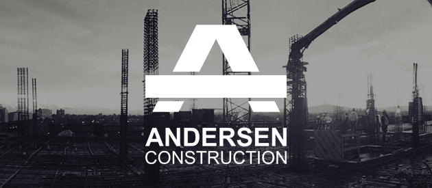 Andersen Construction's New Responsive Website is Stunning