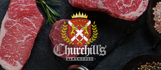 Churchill's Steakhouse Launches New Websites