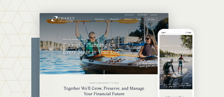 Wealth Management Firm Chaney Capital Has A Brand New Website!