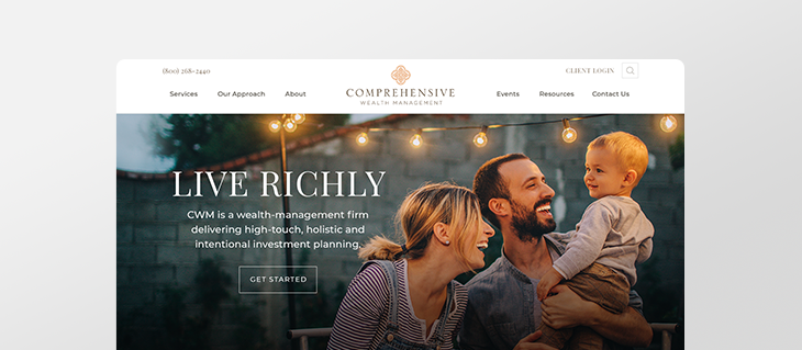 New Website Launched for Wealth Management & Financial Planning Advisors