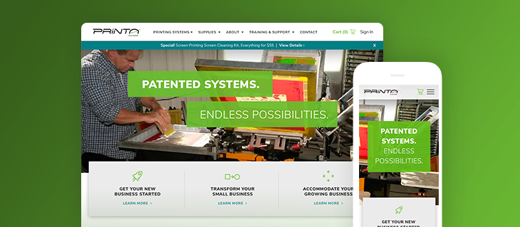 New Launch: eCommerce Website for Printa Systems