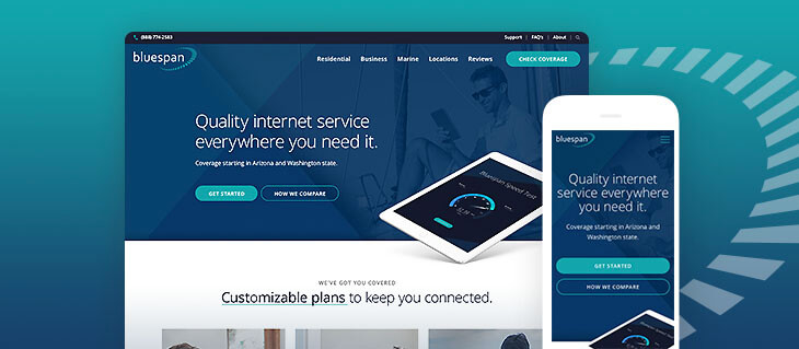 Website for Customer-Focused Internet Service Provider Now Live