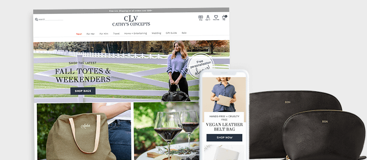 Check Out Our New D2C eCommerce Website For Cathy's Concepts