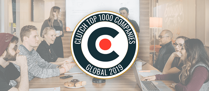 Clutch Names efelle creative a Top 1000 Company!