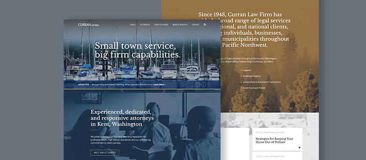 Legal Website Redesign Launched for Law Firm Serving Pacific Northwest