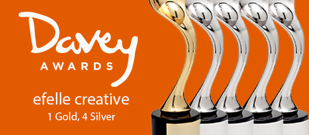 efelle creative Wins International Davey Awards