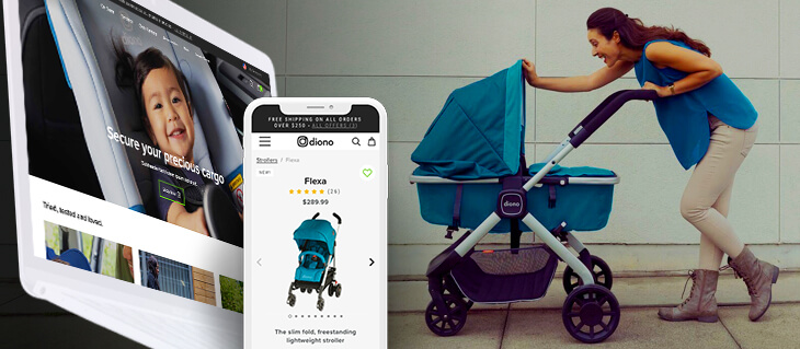 Global Retailer of High-End Car Seats and Strollers Diono Has a New eCommerce Website