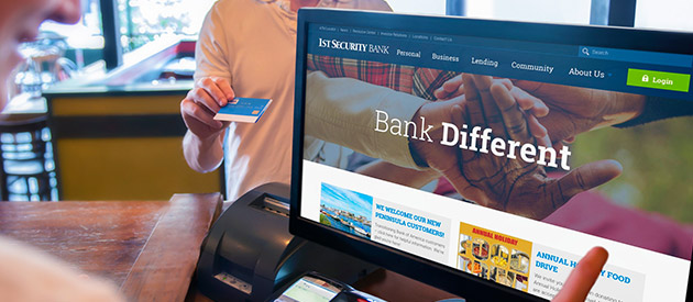efelle launches new professional services website for 1st Security Bank of Washington
