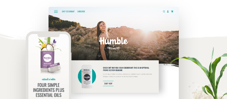 Humble Brands Website Wins Award for eCommerce Website Design!