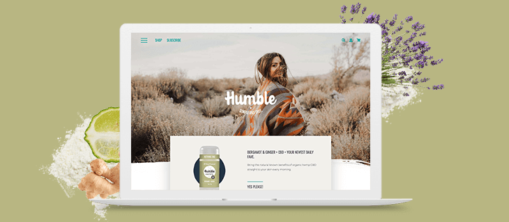 Check Out Our Beautiful New Site for All-Natural Company Humble Brands