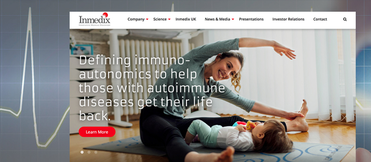 New Website Launched for Medical Company, Immedix