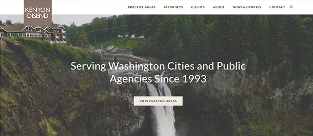 Washington Law Firm Launches Responsive, Redesigned Website