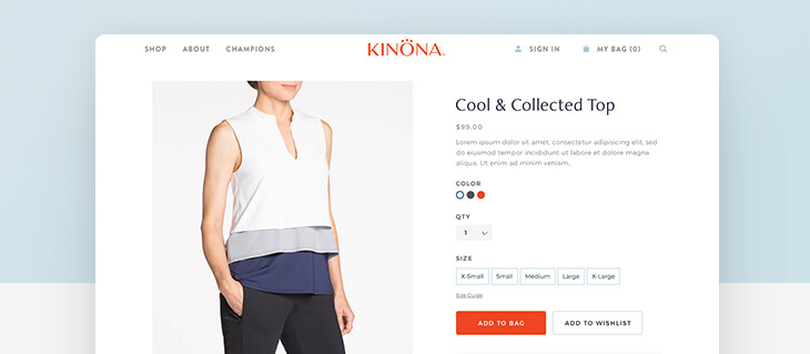 No Polo, No Problem. KINONA Sport Has a New Website.