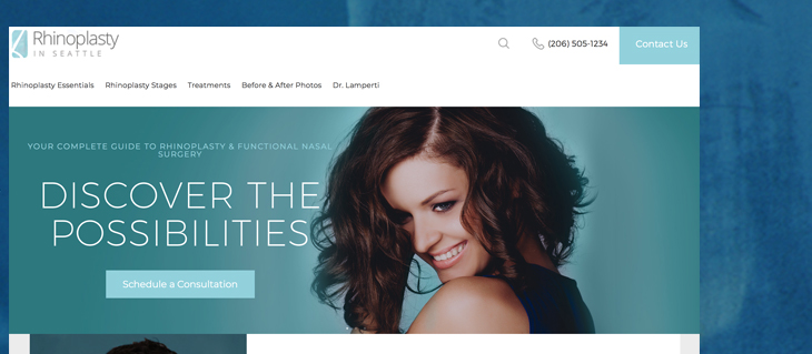 New Website Launched for Rhinoplasty in Seattle