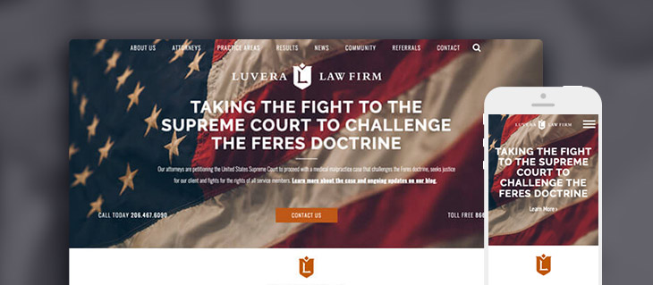 Luvera Law Firm's New Website is Now Live!