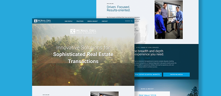 Legal Website Redesign Launched for Seattle Litigation Firm
