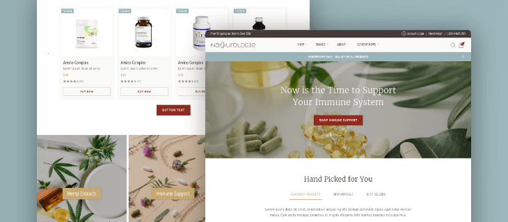 Our New eCommerce Website for Naturologie Has Launched on BigCommerce!