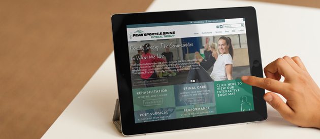 Physical Therapy Clinics New Service Site Goes Live