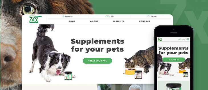 New eCommerce Website for Groundbreaking Pet Supplements Company is