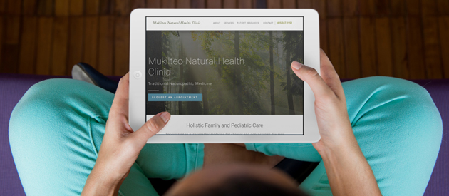 Growing Naturopathic Practice Increases Online Presence with a New Site