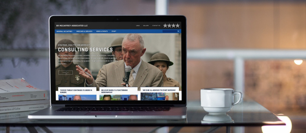 New Responsive Website Launched for Consulting Firm BR McCaffrey Associates