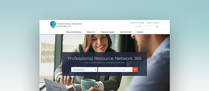 Professional Resource Network 365 Gets Fresh New Website
