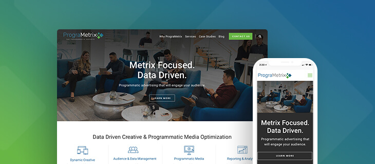Modern Website Launched for Programmatic Advertising Agency