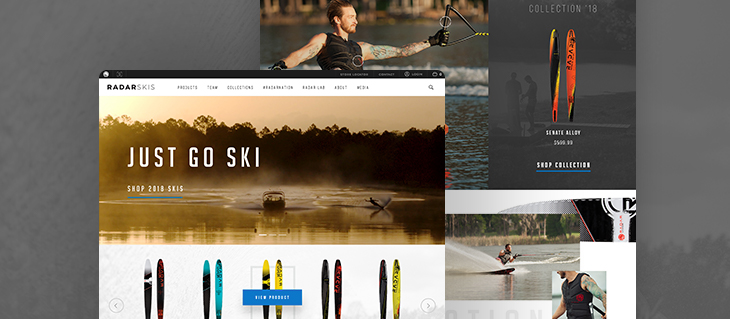 eCommerce Website for All-American Water Ski Brand is Now Live