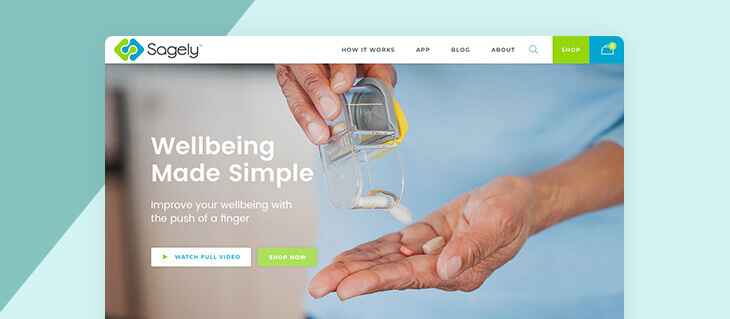 efelle creative Launches Vibrant Website for Sagely