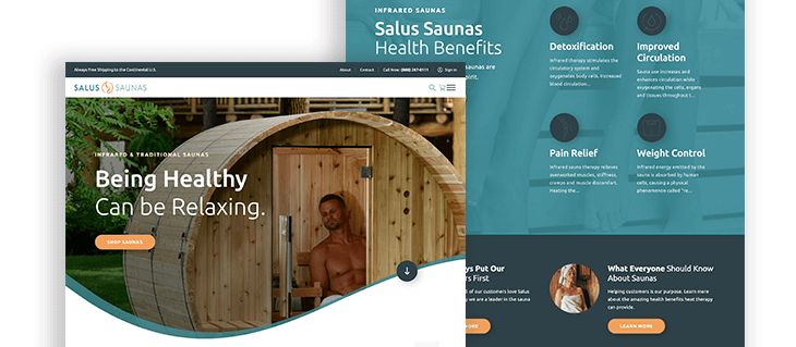 Ecommerce Website Design For Your Partner In Health And Wellness Efelle Creative Seattle Wa